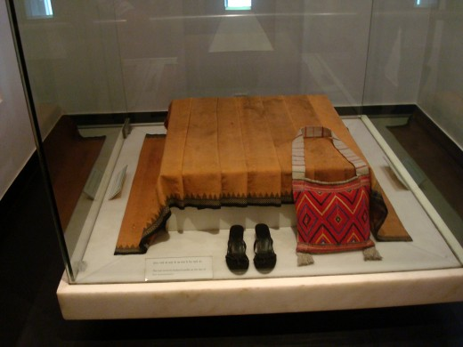 Indira Gandhi's blood-stained saree and her belongings at the time of her assassination