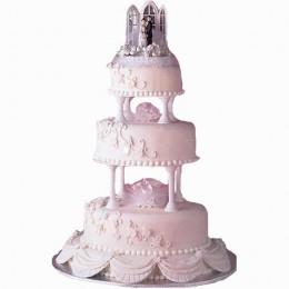 Wedding Cake: 3 tiers