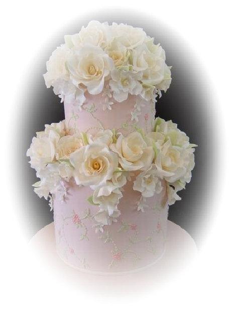 Wedding Cake Ideas: stacked wedding cake