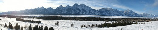 Jackson Hole Valley, Wyoming.