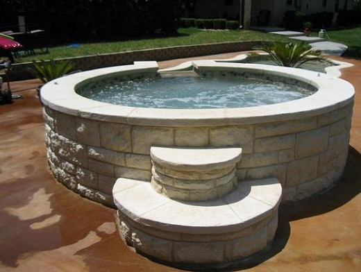 The Aqua Group can also assist you with Spas and Hot Tubs, whether you would like a separate spa, or one with a mystical vanishing edge into your pool such as this one.