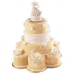Stacked Wedding Cake