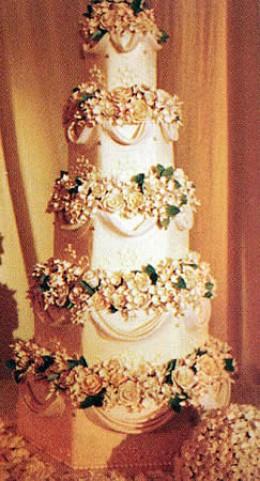 Wedding Cake Ideas: Celebrity wedding cake