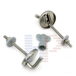 Toilet Seat Hinges (Chrome)