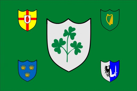 Irish Rugby Union Flag