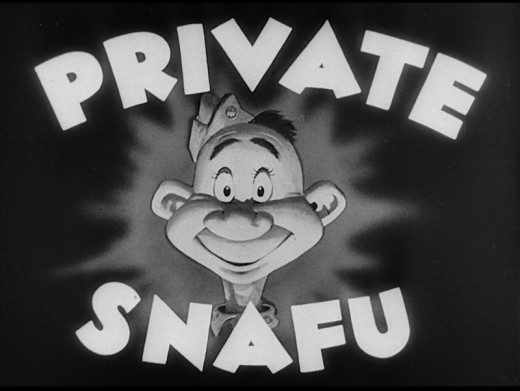 Seuss' Private Snafu