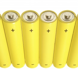 copyright Angelo Gilardelli at  http://www.dreamstime.com/stock-image-yellow-batteries-1-rimagefree385729-resi2284415
