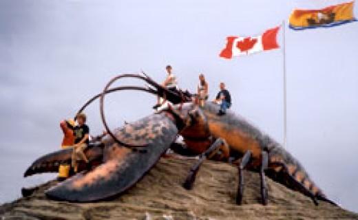 Shediac's town mascot - from knownewbrunswick.com