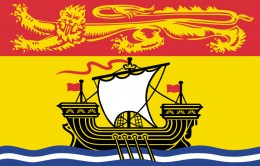 NB provincial flag - image from media tourismnewbrunswick.ca