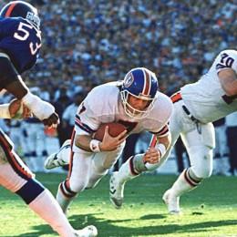 John Elway Denver Broncos  A/P Photo