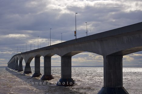 Confederation Bridge - image from canada-photos.com