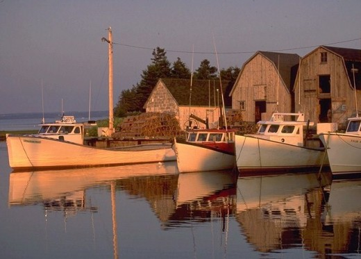 Fishing village - photo from gov.pe.ca