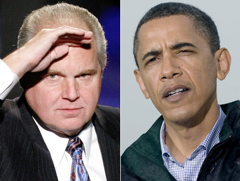 "Rush Says The Gulf Oil Crisis Is Obama's ""Katrina"""