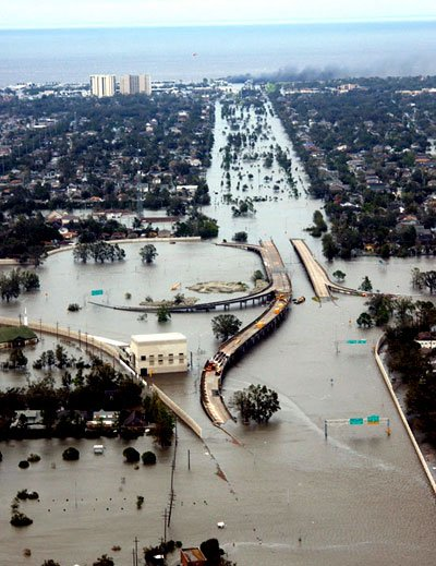 Unlike the Damage Caused By Hurricane Katrina, This Crisis Is Man Made And Came With No Notice