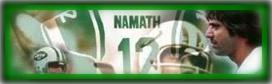 Joe Namath - on Hubpages