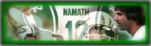 Joe Namath - on Hubpages