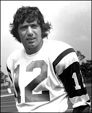John Rooney/Associated Press Joe Namath in 1971; other quarterbacks may have been better, but less fun to watch.