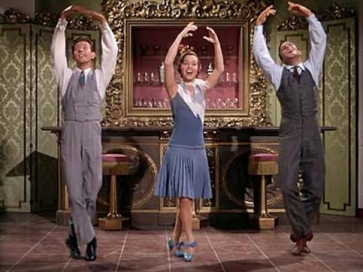 Donald O'Conner, Debbie Reynolds, Gene Kelly