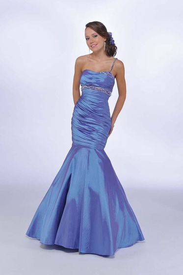 Prom Dress: Bonny Mystic Prom Dress Style:3039 Iridescent Taffeta