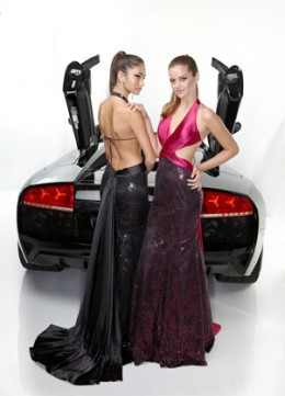 Prom Dress: Davinci Prom Dress Style 1315 Fabric : Sequins Charmeuse