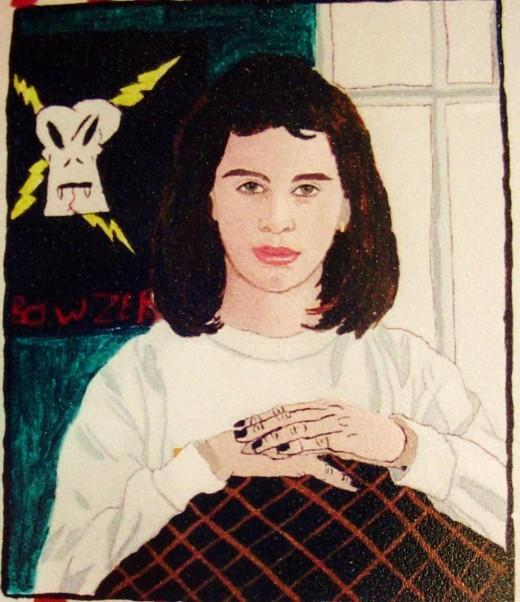 Kelsey's self portrait