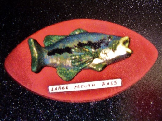 One of my boy studnts who did some fish plaques in miniature.