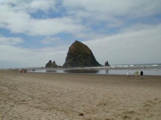 Haystack Rock - Oregon Coast