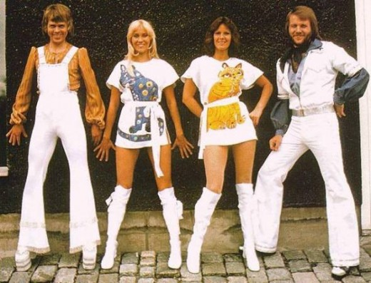 "ABBA - ""We might look odd but we certainly get noticed!"""