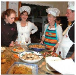 Hands-on culinary  experience to  feed your body,  mind and soul!