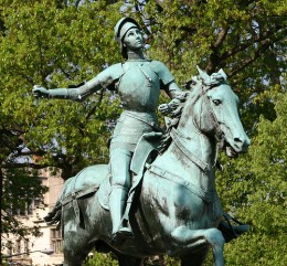Yet another statue of Joan of Arc