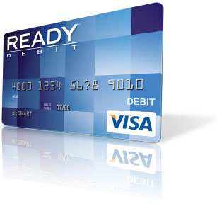 Readydebit Prepaid Visa Blue