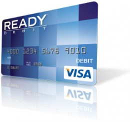 Readydebit Prepaid Visa Blue