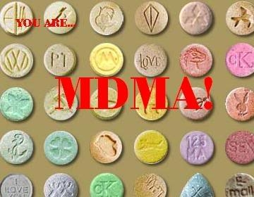 # 6 most abused drug is MDMA (ECSTASY)