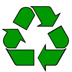 Recycling helps keep our environment green.