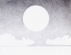 Tips From An Amateur Artist: How To Draw A Daylight Moon