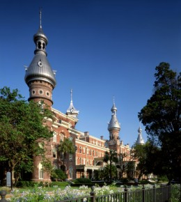 The museum is also home to the University of Tampa