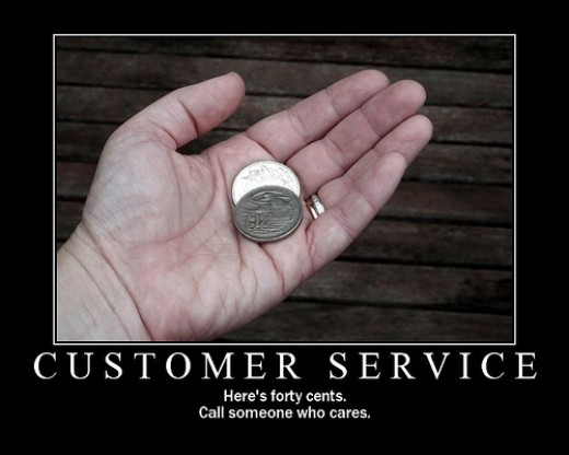 Long Lines and Employees Who Don't Care:  Customer Service At Walmart