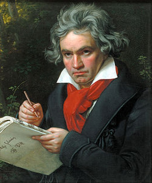Ludwig Van Beethoven  courtesy of wikipedia