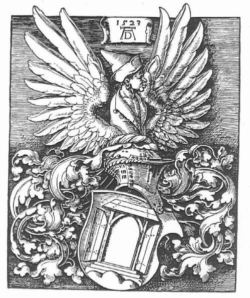 Woodcut of Durer's Coat of Arms