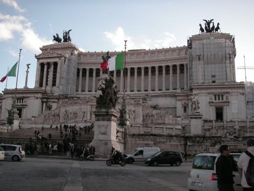 Monument to Vittorio emanuele II