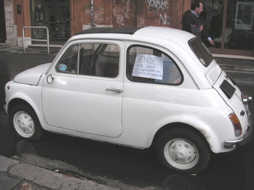 Fiat Cinquecento - sheer class and style