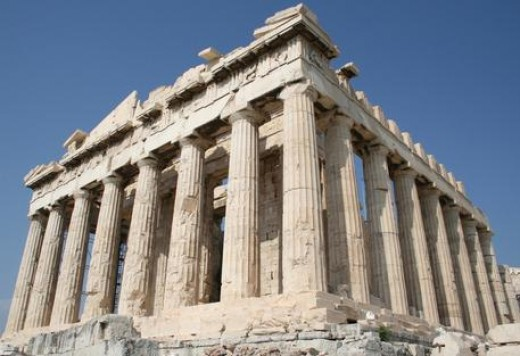 The Parthenon in Ancient Greece