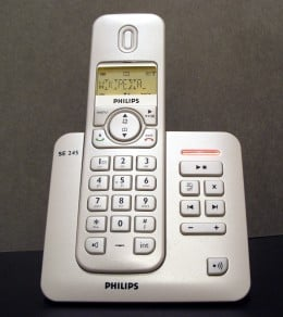 A phone that uses DECT technology