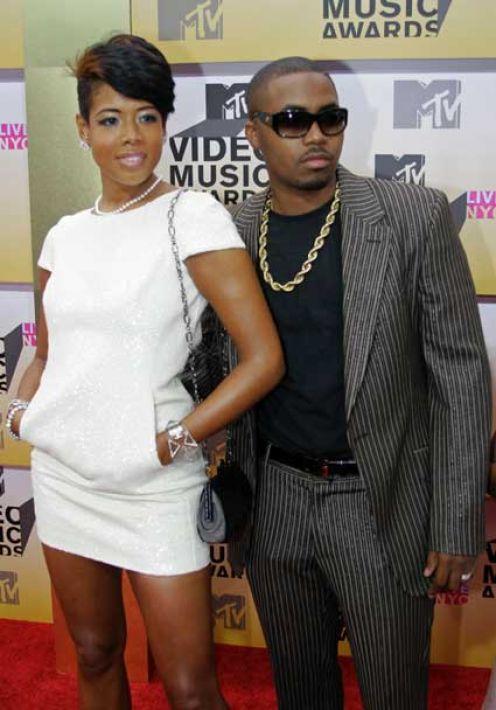 NAS And Kelis At The MTV Awards
