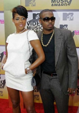 NAS And Kelis At The MTV Awards
