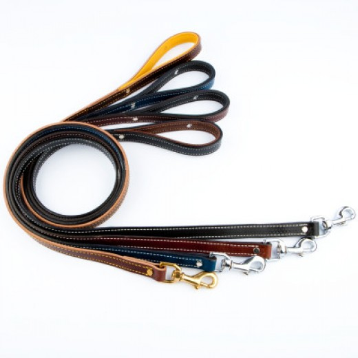 Weaver Designer Leather Dog Leashes $29.99