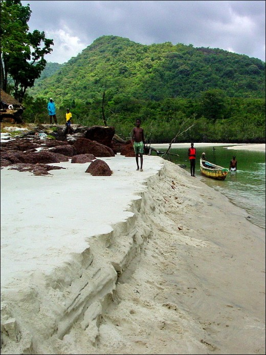 Sierra Leone has an unbelievable number and quality of beaches. This is the reward of learning to live comfortably off the beaten track!