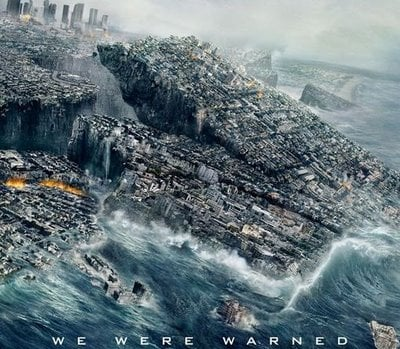 """This action-packed disaster scene is from the movie """"2012""""."""