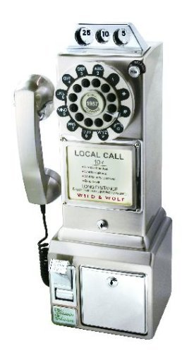 Lots of Pay-Phone Calls, Too