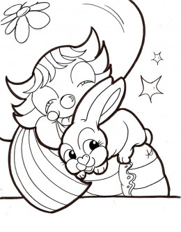 Circus Clown Kids Coloring Pages Free Colouring Pictures to Print - Petting Zoo Clown
